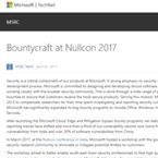 Bountycraft at Nullcon 2017