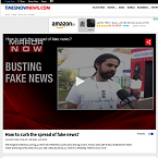 How to curb the spread of fake news?