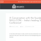 A Conversation with the founder of NULLCON – India's leading Security Conference!