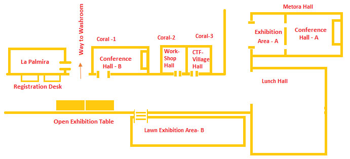 Event Area Layout